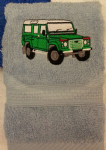 LAND ROVER PERSONALISED FACE CLOTH